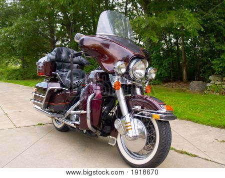 Parked Motorcycle