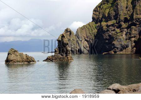 Volcanic Rock & Ocean