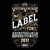 label poster