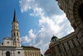 Постер, плакат: Старый кафедральный собор возле дворца Хофбург Вена Австрия