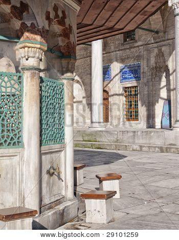 Ablution Taps At Sokullu Pasa Camii Mosque