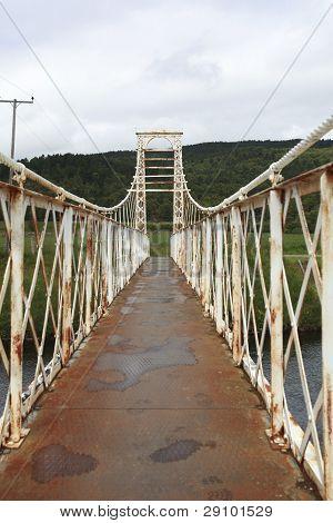 Victorian Suspension Bridge