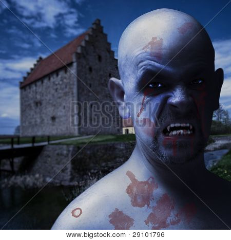 Twilight Vampire Man