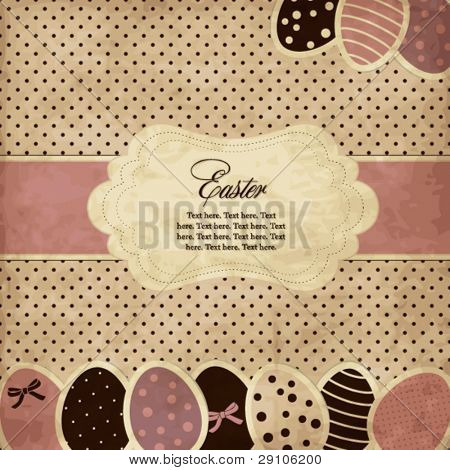 Ostern-Grußkarte