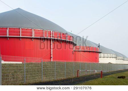 Fermenter Of A Biogas Plant