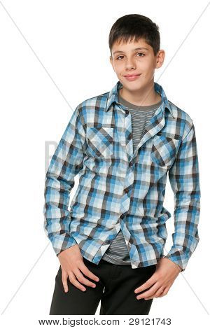 Fashion Smiling Teen