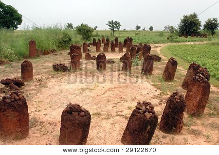 Horizontal Image Of The Wassu Stone Circles