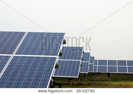 Park With Solar Cells
