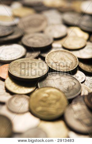 Ver quadro completo de moedas internacionais mistas