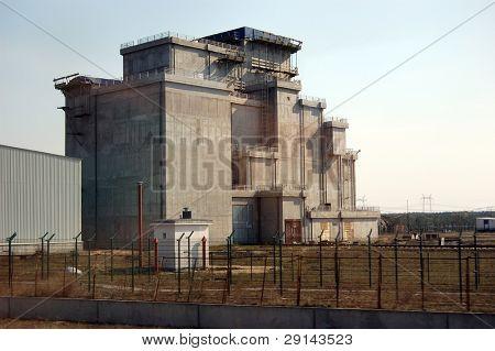 Chernobyl nuclear power plant.Used nuclear fuel storage. Kiev region,Ukraine
