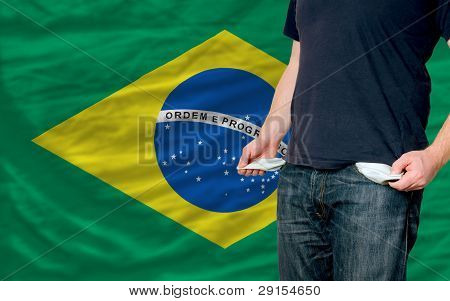 Recession Impact On Young Man And Society In Brazil