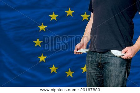 Recession Impact On Young Man And Society In Europe