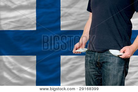 Recession Impact On Young Man And Society In Finland