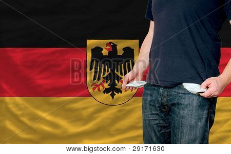 Recession Impact On Young Man And Society In Germany