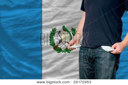 Recession Impact On Young Man And Society In Guatemala