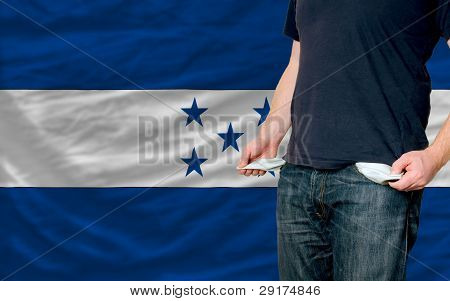 Recession Impact On Young Man And Society In Honduras