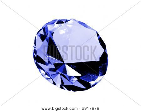 Isolated Sapphire