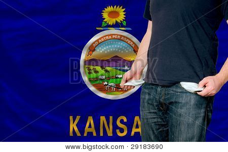 Recession Impact On Young Man And Society In American State Of Kansas