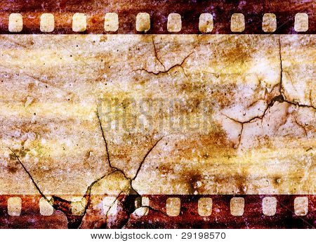 Vintage Grunge Film Strip