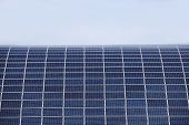 Solar Panels For The Production Of Electrical Energy From Solar Energy. Environmentally Friendly Ene poster