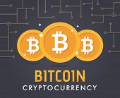 Crypt Currency Bit-coin poster