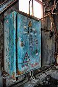 Постер, плакат: Потерянный город В районе Чернобыля Киевская область Украина HDR