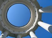 stock photo of ekaterinburg  - rotunda - JPG