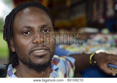 African Curio Salesman