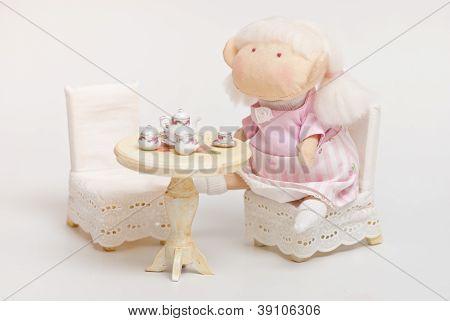 handmade toy girl