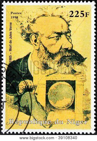 Jules Verne Stamp