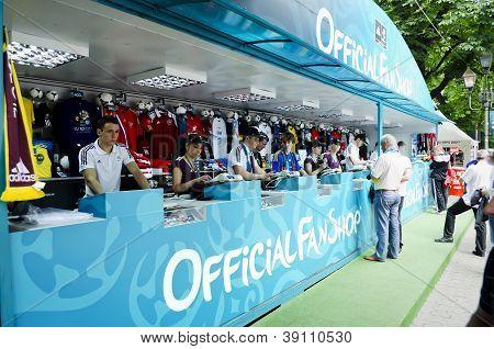 Fan-zone On Euro-2012