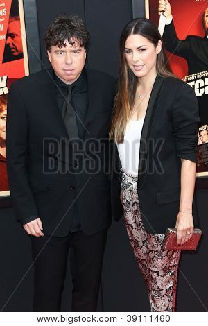 NEW YORK-NOV 18: Director Sacha Gervasi and wife Jessica attend the premiere of