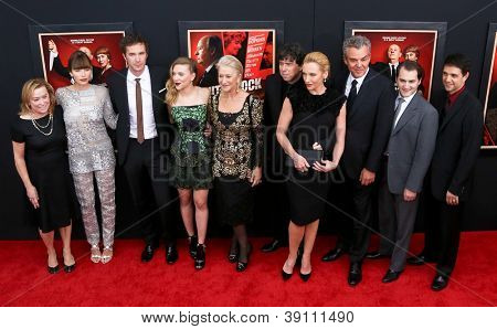NEW YORK-NOV 18: Jessica Biel and cast attend the premiere of