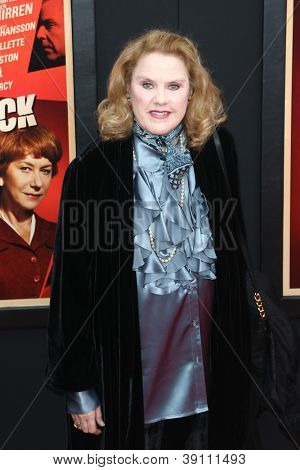 NEW YORK-NOV 18: Actress Celia Weston attends the premiere of