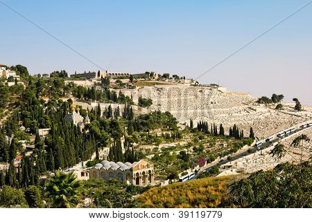 Gethsemane, And The Church Of All Nations   On The Mount Of Olives In Jerusalem