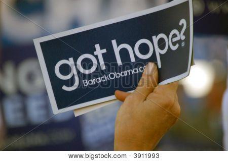 Obama 08 Slogan