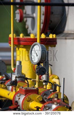 Gas-manometer