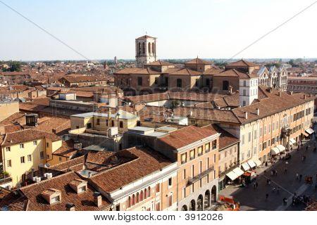 Ferrara Aerial View Italy