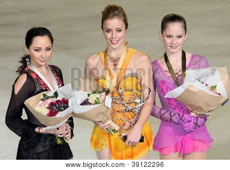 Medalists In Ladies Single Skating