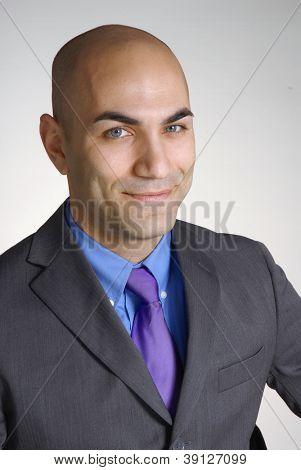 successful young businessman portrait.
