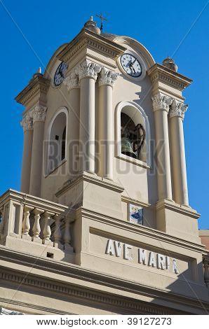 Church of St. Maria di Porto Salvo. Maratea. Basilicata. Italy.