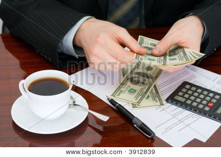 The Businessman With Money