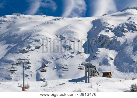 Ski Resort Les Arcs France