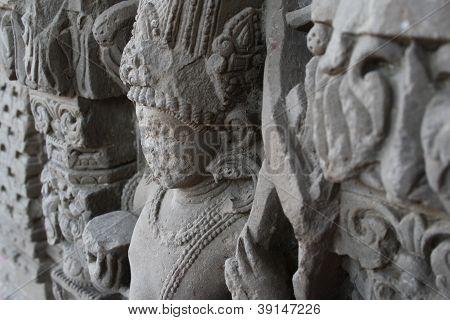 1200 Year Old Vishnu Sculpture