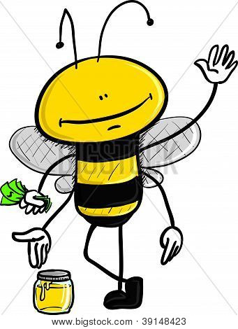 honey selling bee
