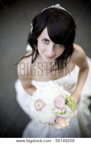 beautiful wedding bride