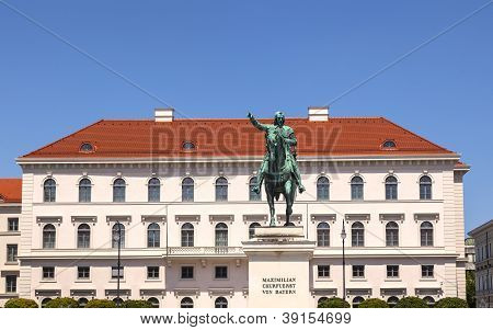 Kurf�rst Maximilian statue in Munich in Germany