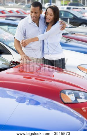 Couple Looking To Buy Car