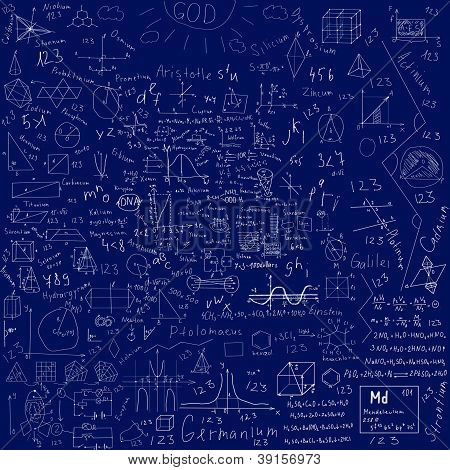 School Doodles Background