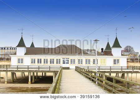The Historic Pier Of Ahlbeck